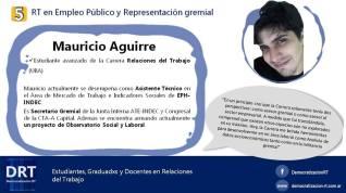 RT en Empleo Público y Representación gremial