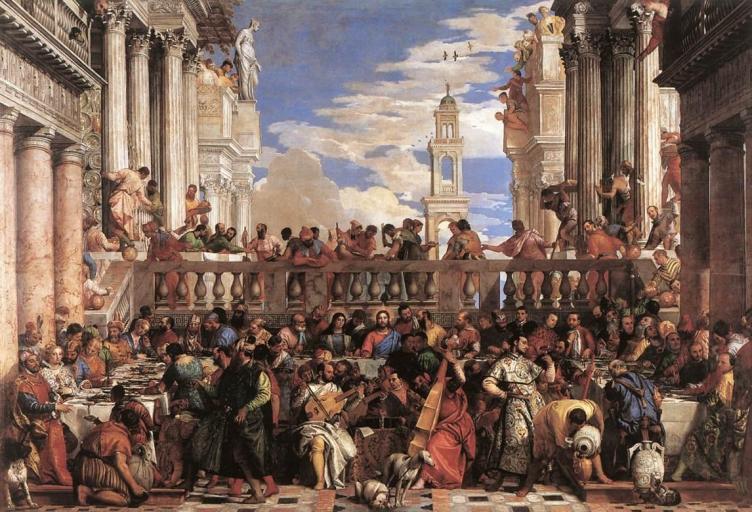Paolo Veronese. Le nozze di Cana - 1563