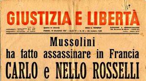 Giustizia e Libertà, 18 Giugno 1937.
