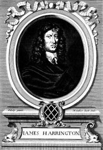 01 James Harrington. Ritratto di Michael van der Gucht (1660-1725)