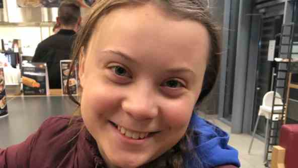 Figura 1. Greta Thunberg.