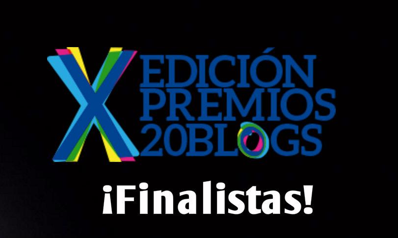 Nos han elegido de entre más de 7.000 blogs como finalistas de los #Premios20Blogs. ¡El 21 de abril sabremos si somos el blog del año!