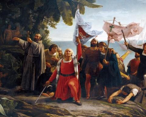 Una visión romántica de la Conquista de América.