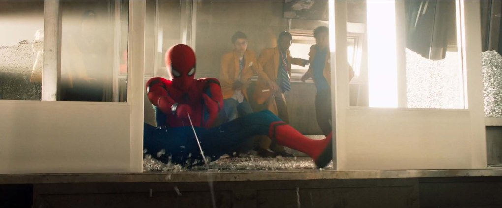Spider-Man Homecoming ascensor