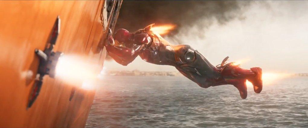 Spier-Man Homecoming Iron-Man