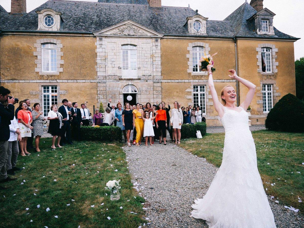 mariage chic chateau rennes bretagne