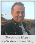 Tor-Andre Hopen - Demokratenes førstekandidat fylkestingsvalget Trøndelag 2019