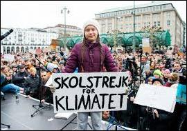Miljøaktivist Greta Thunberg er blant de som hauser opp politikernes klimahysteri til det ekstreme.