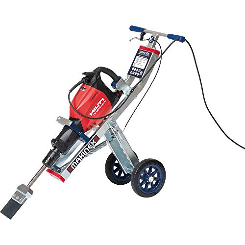 Hilti TE 1000-AVR 120-Volt Demolition Hammer with Makinex Trolley, Tile Smasher, Cord and Side Handle