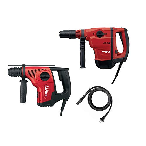 Hilti 2-Tool Pack TE 60-AVR/ATC SDS Max Active Torque Control Hammer Drill/Chipping and TE 7-C SDS Plus Hammer Drill/Chipping