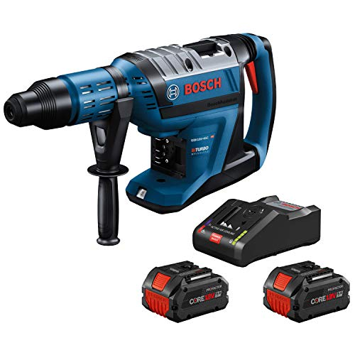 Bosch GBH18V-45CK24 18V Hitman Connected-Ready 1-7/8 In. SDS-max Rotary Hammer Kit with (2) CORE18V 8.0 Ah PROFACTOR Performance Batteries