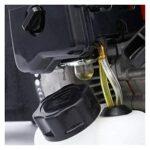 Bluetooth earphone Gasoline Demolition Jack Hammer 1800w Powerful Concrete Breaker 32.7cc 2 Stroke Demolition Hammer Drillfor General Dust Collector for Sanding Strike Plate Home Renovation