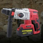 Handheld Electric Cordless Brushless Hammer Demolition Concrete Breaker Jack Hammer for Air Conditioning Installation
