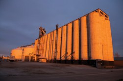 Before Image of East Grain Elevators
