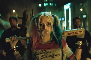 Margot Robbie plays Harley Quinn, the characters first on screen debut