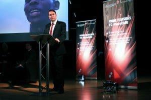 DMU's Vice-Chancellor, Professor Dominic Shellard