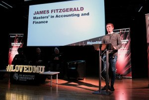 James Fitzgerald (Cricket Team Captain and Accounting and Finance Masters Student)