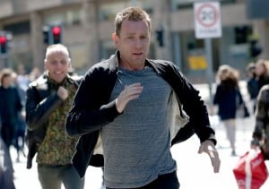 Renton and Spud (McGregor and Bremner) find themselves running from past problems