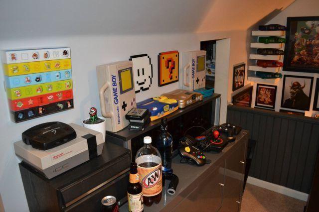 La chambre rv dun Gamer