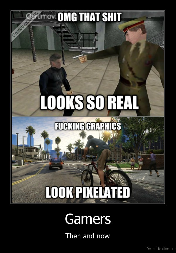 Image result for gaming then and now