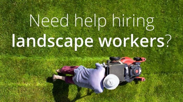 hire landscaping employees