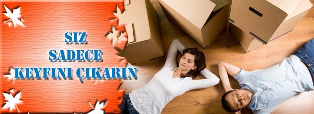 Evden eve güvenilir taşımacılık