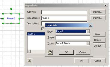 Insert hyperlink