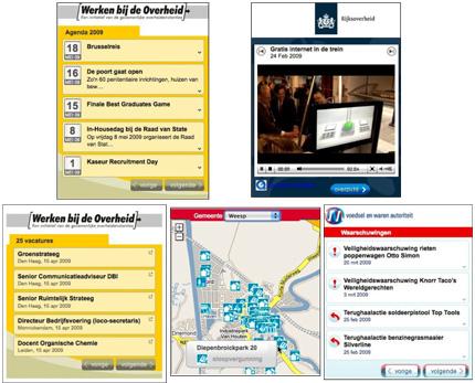 5 widgets die Tam Tam met Alper Cugun voor Ministerie van BZK ontwikkeld heeft