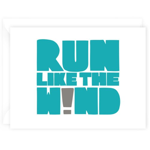 run like wind card