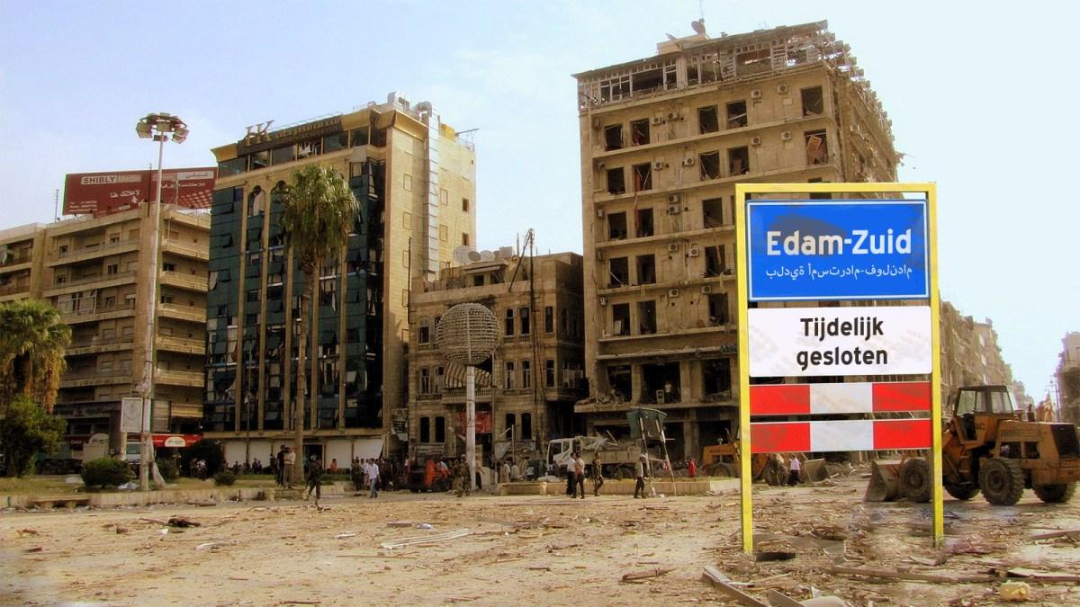 Drastische maatregelen: 'Terroristenwijk' Edam-Zuid wordt ontruimd