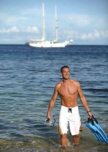 Spirit of the Pacific. Captain Cook Cruises, Fiji.