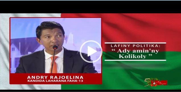 Hiditra magistrat ianao, ny ankamaroany tsy maintsy manao kolikoly vao tafiditra magistrat – Hoy ny Filoha Andry Rajoelina 16 desambra 2018