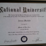 Masters of Fine Arts in Creative Writing