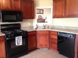 Kitcen with Cherry Cabinets