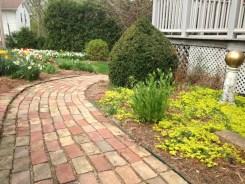 path to back yard