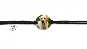 pulsera dencanto seda trenzada perro