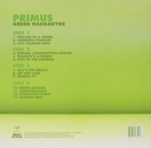 green naughahyde - primus - back