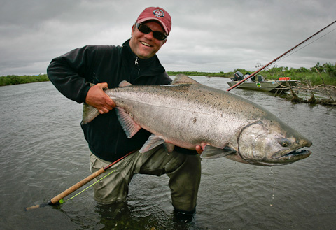 Spey Fishing at Alaska West