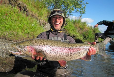 Big fish, big smile.  Photo: Jay Burgett