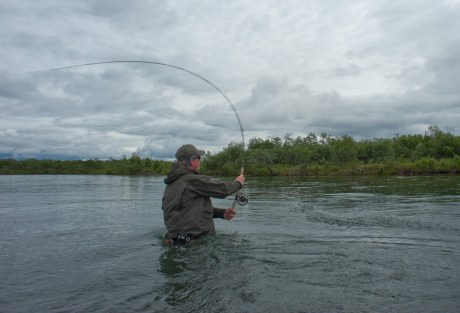 Loaded Spey Rod