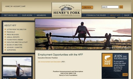 Henrys Fork Foundation Executive Director