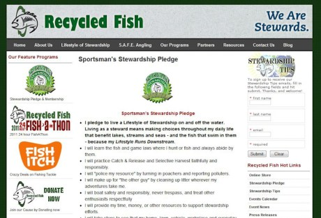 Sportman's Stewardship Pledge
