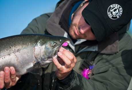 Popper Salmon Fishing