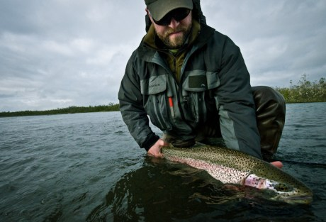 Alaska Rainbow Trout by Louis Cahill Photography