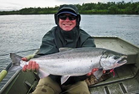 Coho Salmon in Alaska
