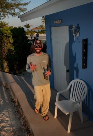 Kyle at Andros South