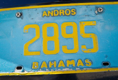 Andros License Plate