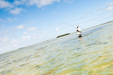 Angler on Flat by Louis Cahill Photography