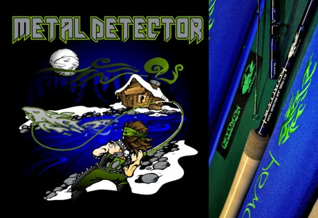 Metal Detector Spey Rods
