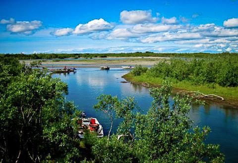 August at Alaska West